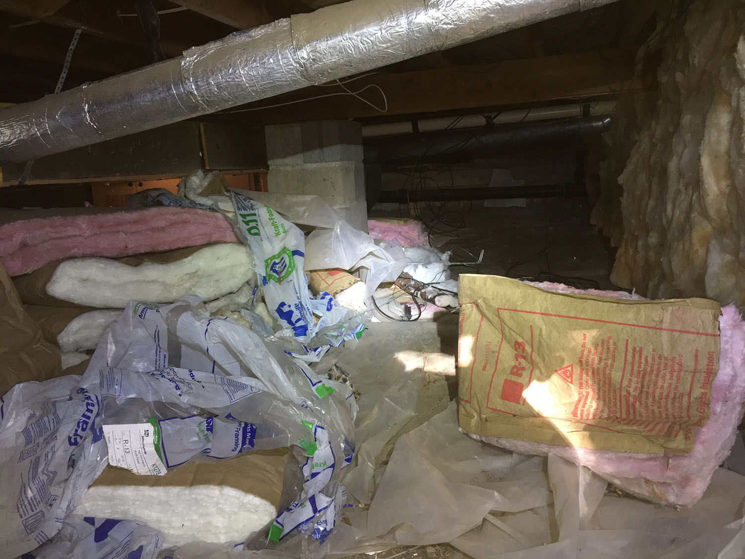 Crawl Space Insulation in Denver