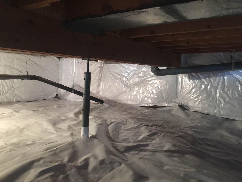 Crawl Space Encapsulation in Denver