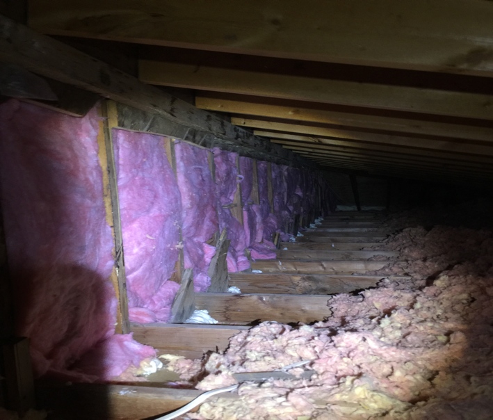 Case Study Knee Walls Insulation in Denver