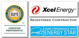 Xcel,BPI, HP Logo