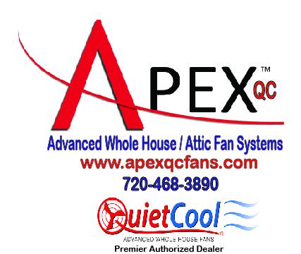 Apex QC Attic Fans Logo