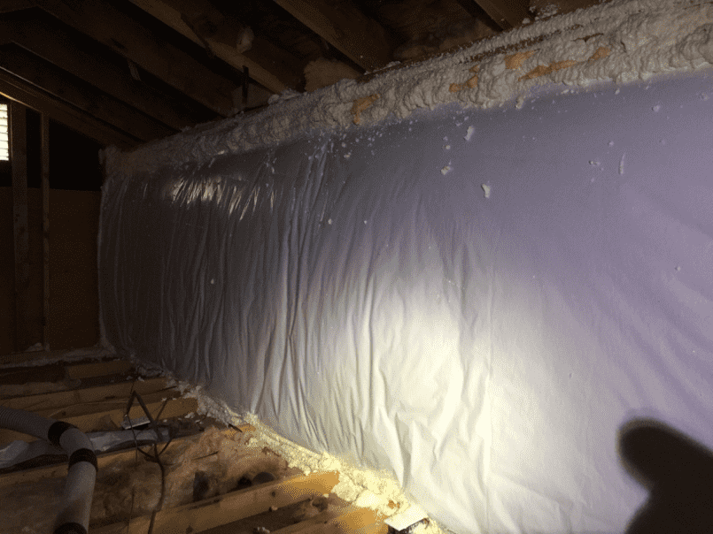 Knee Wall Insulation in Denver